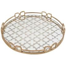 18 in. x 18 in. Decorative Tray in Rustic Brass - $93.03