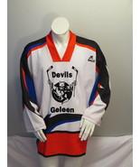 Retro Dutch Hockey Jersey - Geleen Devils by Brux - Men's Extra Large - $85.00