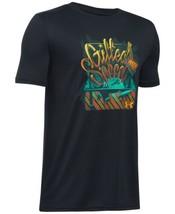 Under Armour Graphic-Print T-Shirt, Big Boy (Black, M) - $17.85