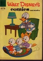 WALT DISNEY'S COMICS & STORIES #221 DONALD DUCK  BARKS VG - $24.25