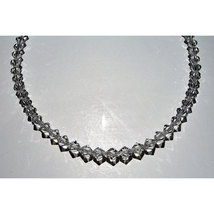 Crystal Bicone Necklace image 2