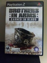 Brothers in Arms: Earned in Blood (Sony PlayStation 2, 2005) Tested & Working - $2.48