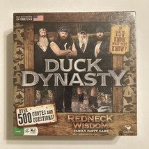 Duck Dynasty Redneck Wisdom Board Game By Cardinal, Over 500 Quotes & Qu... - $5.99
