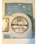 Retractable Clothesline 20 Foot for Indoor or Outdoor - $11.99