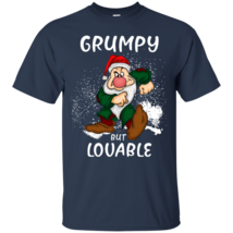 Grumpy Disney But Lovable G200 Navy Cotton T-Shirt - $21.00+