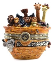 "Boyds Treasure Box ""Noah's Ark w/Trip McNibble"" #392111 -2E- NIB- Retired - $69.99"