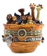 "Boyds Treasure Box ""Noah's Ark w/Trip McNibble"" #392111 -2E- NIB- Retired - $69.99"