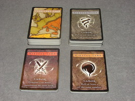 Risk: Godstorm Replacement Part: Complete Set of 110 Cards - $9.00