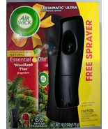Air Wick Freshmatic Ultra Automatic Spray Woodland Pine Fragrance Essential Oils - $10.88