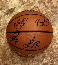 2019 GOLDEN STATE WARRIORS TEAM SIGNED AUTOGRAPHED F.S. BASKETBALL CURRY... - £715.28 GBP