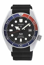 New Seiko Prospex Padi Pepsi 200M Divers Men's Rubber Strap Watch SPB087 - $648.95