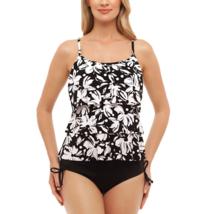 St. John's Bay Dotty Daisy Triple Tier Tankini Size 10 Msrp $48.00  - $9.99