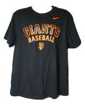 Nike San Francisco Giants Short Sleeve T-Shirt Size Men's XL MLB Baseball - $17.49
