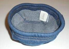 Longaberger Coaster Tote Basket Liner ONLY New Denim Blue 27710165 - $14.84