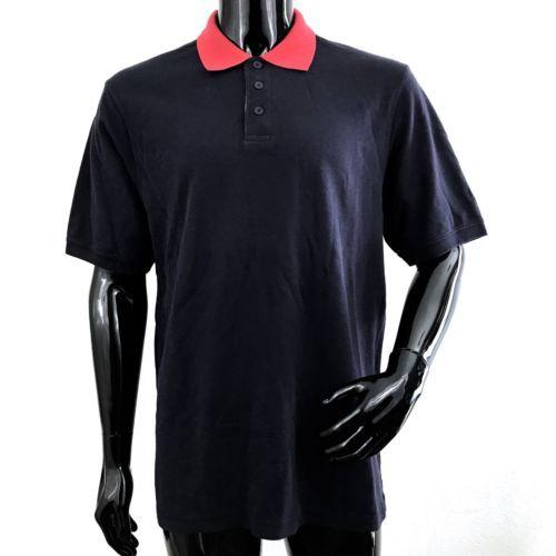 ea2b69f5c Eddie Bauer Mens Large Blue Short Sleeve 100% Cotton Polo Shirt NWOT -   26.06