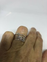 Vintage 925 Sterling Silver MAIA Initial Stacking Rings - $35.56