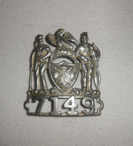 NYPD NYCPD NYC Cop Police Officer Hat Cap Badge Shield Vintage Obsolete ... - $166.25