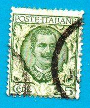 Used Italy Postage Stamp (1926) 25c Victor Emmanuel III Scott #82  - $1.99