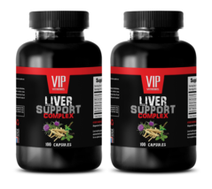 liver detox and support - LIVER COMPLEX 1200MG - ginseng plant - 2 Bottles 200 - $28.01