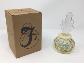 Fenton Art Glass Autumn Gold Opal Perfume with Stopper - New With Box! #... - $109.50