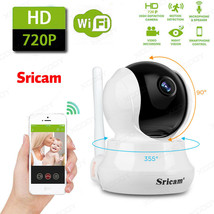 Sricam WiFi Wireless Security IP Camera Two Way Audio Baby Monitor Night... - $57.60