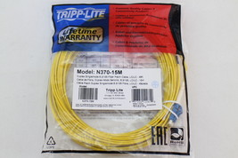Tripp Lite 15M Duplex Singlemode 8.3/125 Fiber Optic Patch Cable LC/LC 49' 49ft - $32.87
