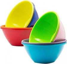 Youngever 32 Ounce Plastic Bowls, Large Cereal Soup Bowls,... - $26.93