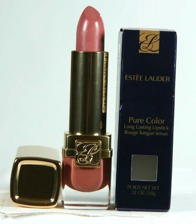 Primary image for New Estee Lauder Pure Color Long Lasting Lipstick 182 Pinkberry