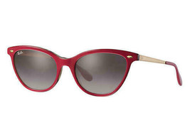 Ray Ban Sunglasses Lady RB4360 1234/11 54 Bordeaux Grey Gradient - $89.09