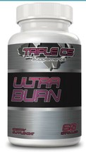 Triple CS Ultra Burn Pre-Workout for Weight Loss/Fat Burning-60 Caplets - $16.82