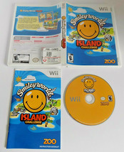 Smiley World Island Challenge complete good shape (Nintendo Wii, 2009) - $16.25
