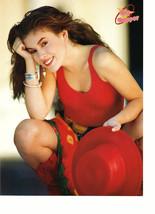 Alyssa Milano teen magazine pinup clipping red cowboy hat