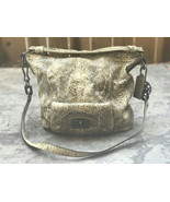 Authentic Tan COACH 15361 KRISTIN EMBOSSED Snakeskin Large Zip Top Hobo ... - $156.42
