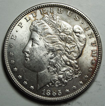 1885 MORGAN SILVER DOLLAR COIN Lot# D 28