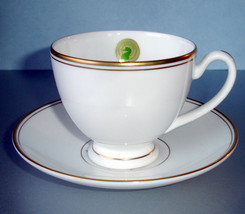 Waterford Kilbarry Gold Tea Cup & Saucer New - $21.99