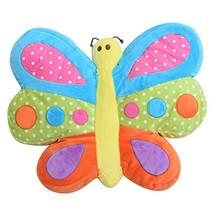 "Snuggle Stuffs Brilliant Butterfly 14"" Minky Plush Throw Pillow  - $40.99"