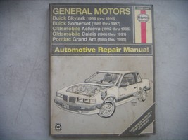 GM Haynes Repair Manual. Buick Skylark & Somerset, Pontiac Grand Am, Old... - $9.41