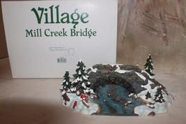 """*Mint* Dept 56 Village """"Mill Creek Bridge"""" #52635 Original """"Mint"""" Box - $24.85"""
