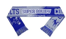 Indianapolis Baltimore Colts Super Bowl 5 Champions Scarf - Brand New - NFL - $14.87