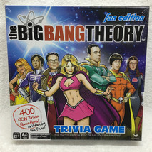 The Big Bang Theory Fact Or Fiction Trivia Board Game Fan Edition New 62086 - $20.76