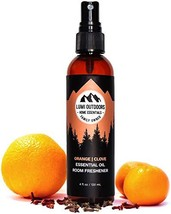 Natural Air Freshener - Orange Clove - Essential Oil Odor Eliminating Room Spray