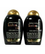 (Pack of 2) OGX Hydrate & Defrizz Kukui Oil Shimmering Gloss Shampoo 13 Oz - $24.74