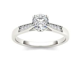 IGI Certified Genuine 14K White Gold 0.75 Ct Diamond Classic Engagement ... - $1,070.99+