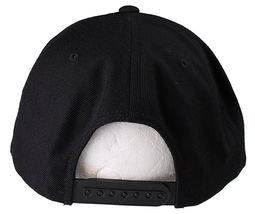 New Akomplice Black Flamingo Mob Est. 2004 Label Patch Snapback Baseball Hat image 4