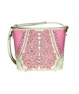Pink Crossbody Concealed Carry Handbag - $55.99