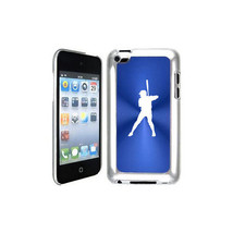 Blue Apple iPod Touch 4th Generation Hard Case Cover B939 Baseball Player - $9.88