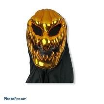 Pumpkin Man Skull Mask Halloween Full Scary Costume Cosplay Masquerade P... - $11.87