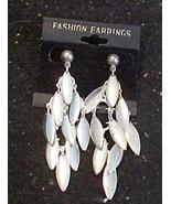 Earrings -Silver Color-Dangles-Pierced Ears - $3.00