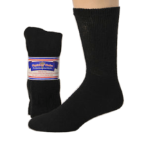 Black- Women's Diabetic Socks 3 pairs Size 9-11 - $8.75