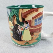 Disney Snow White and the Seven Dwarves Dwarfs Wicked Witch Mug 1996 Vin... - $20.42